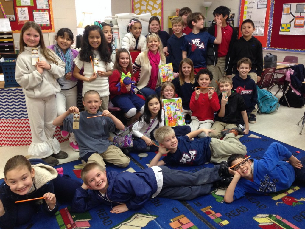 Third graders at World Language Academy